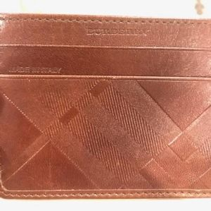 Burberry Card Holder 100% Authentic